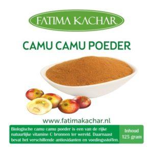 125gr Camu Camu Poeder Raw (Rood)