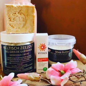 Baby en Kind pakket (Aleppo Zeep, Keltische zeezout, Microbiol, Shea Butter)