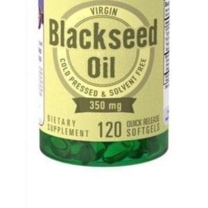 Zwarte komijnzaad olie (Softgels)