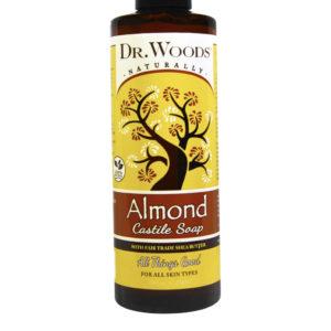 Dr. Woods Pure Almond Castile Soap
